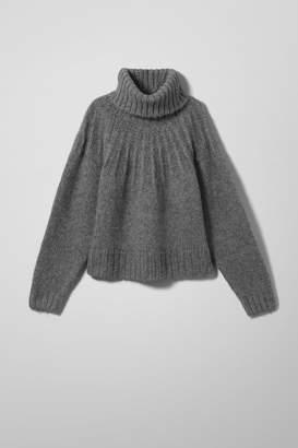Weekday Lute Sweater - Grey