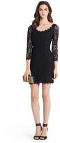 Diane von Furstenberg Zarita Scoopneck Lace Dress