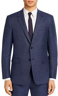 Theory Chambers Melange Solid Slim Fit Suit Jacket