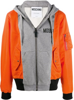 Moschino Panelled Hybrid Jacket