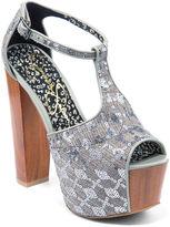 Jessica Simpson Dany T-strap High-Heel Sandals