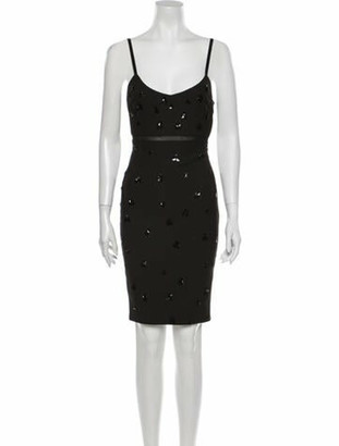 Elizabeth and James Scoop Neck Mini Dress w/ Tags Black