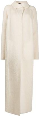 Gianfranco Ferré Pre Owned 2000s Wool Maxi Coat