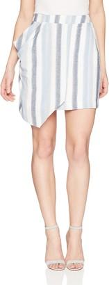 BCBGeneration Women's Drapey WRAP Skirt
