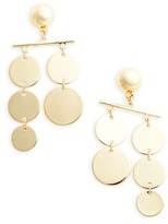 Topshop Women's Circle Mobile Earrings