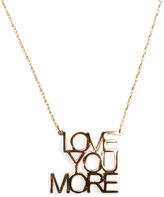Jennifer Zeuner Jewelry Love You More Necklace