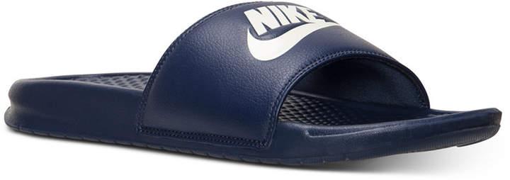 Nike Men Benassi Jdi Slide Sandals from Finish Line
