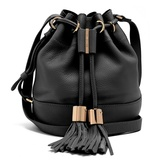 See by Chloe Vicki medium leather cross-body bucket bag