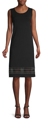 Lafayette 148 New York Sleeveless Shift Dress