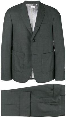 Thom Browne Super 120s Patch Pocket Sack Suit