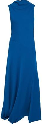 3.1 Phillip Lim Asymmetric Draped Crepe Maxi Dress