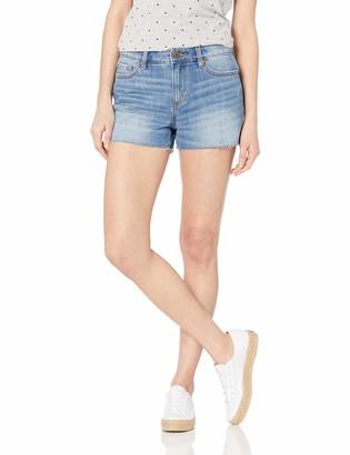 Miss Me Women's Cut-Off Denim Boyfriend Shorts