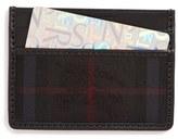 Burberry 'Sandon' Horseferry Check Card Case