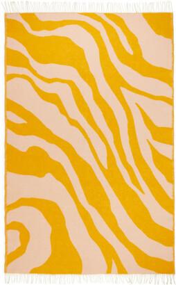 Arket Klippan Zebra Wool Blanket