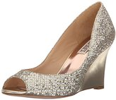 Badgley Mischka Women's Awake Wedge Sandal