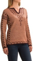 Royal Robbins Autumn Pine Reversible Sweater - V-Neck (For Women)