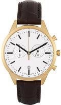 Uniform Wares Men's C41 Watch-GOLD