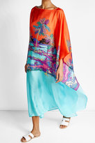 Emilio Pucci Printed Silk Caftan Dress