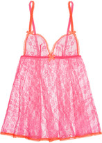 L'Agent by Agent Provocateur Monica lace babydoll