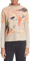 Rachel Comey Women's Hand Embroidered Alpaca Blend Sweater