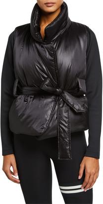 Lukka Lux Alexis Belted Puffer Vest