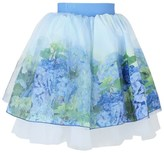 Love made Love Floral Printed Tulle Skirt