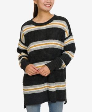Hippie Rose Juniors' Tunic Sweater