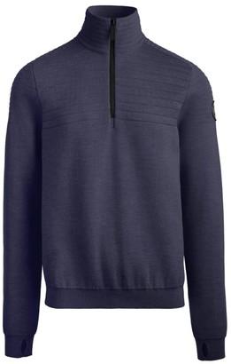 Canada Goose Clarke Half-Zip Merino Wool Sweater