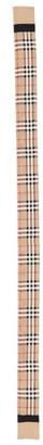 Burberry Vintage Check Mulberry Silk Skinny Scarf
