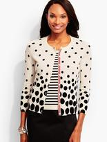 Talbots Charming Cardigan-Mixed-Dot