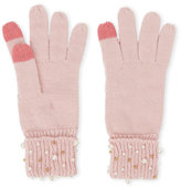 Betsey Johnson Crazy For Pearls Gloves