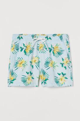H&M Short Swim Shorts - Blue