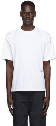 A-Cold-Wall* White Classic Logo T-Shirt