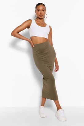 boohoo Tall Midaxi Skirt
