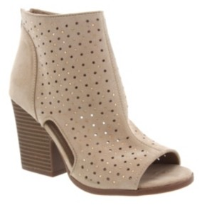 Rampage Vionna Perforated Booties Women's Shoes