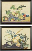 OKA Pair Of Garden Birds Still Life Framed Prints