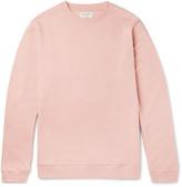 Oliver Spencer Loungewear - Fleece-back Cotton-jersey Sweatshirt