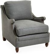 Haute House Estancia Club Chair, Graphite