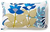 Trina Turk Trellis Mineral Flower Boudoir Pillow