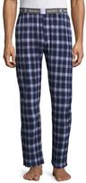 Psycho Bunny Knit Printed Pants