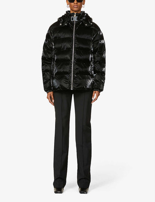 Alyx Nightrider funnel-neck hooded shell jacket