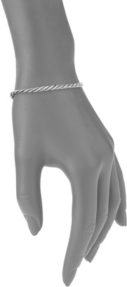 John Hardy Black Sapphire Sterling Silver Chain Bracelet