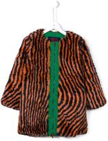 Bobo Choses 'Hypnotized' coat - kids - Acrylic/Polyamide/Polyester - 7 yrs