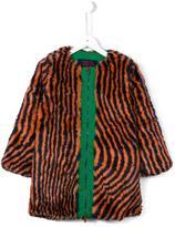 Bobo Choses 'Hypnotized' coat - kids - Acrylic/Polyester/Polyamide - 7 yrs