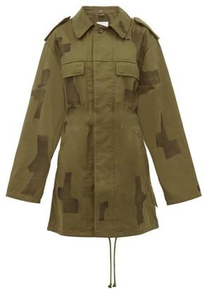 Myar - Repurposed Vintage Military Jacket - Green