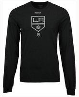Reebok Men's Los Angeles Kings Logo Reflect Long Sleeve T-Shirt