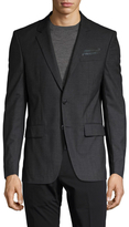 Givenchy Wool Notch Lapel Sportcoat