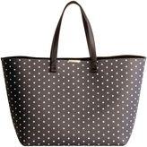 Victoria Beckham Blue Leather Shopping Bag