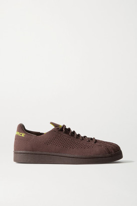 adidas + Pharrell Williams Superstar Primeknit Sneakers - Brown