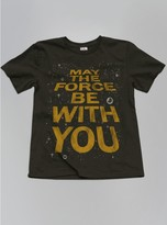 Junk Food Clothing Kids Boys May The Force Be With You Tee -bkwa-xs